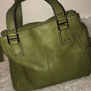 Fossil Leather Beautiful Green Very Good Condition